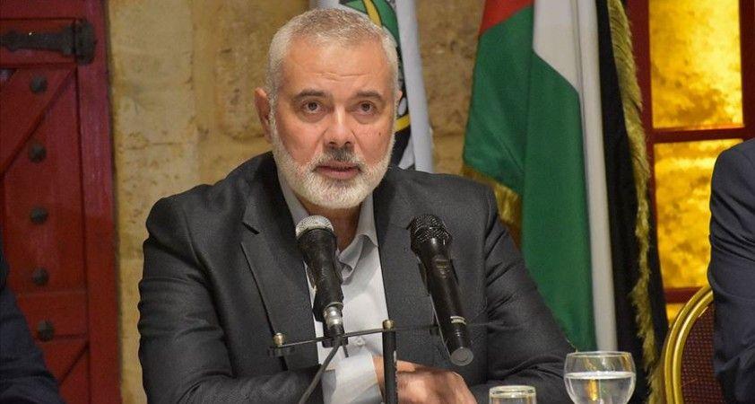 Heniyye, BM Orta Doğu Barış Süreci Özel Koordinatörü'yle Filistin uzlaşısını görüştü
