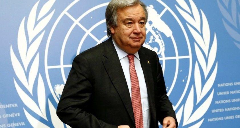 BM Genel Sekreteri Gueterres'den koronavirüs çağrısı