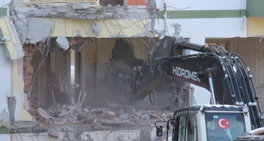 Yozgat'ta Millet Bahçesi için ilk yıkım yapıldı