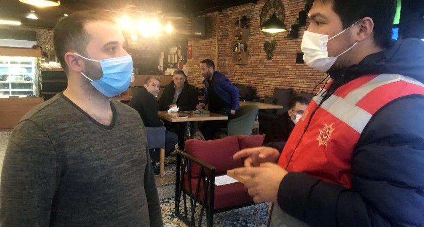 Esenyurt'ta kafe, lokanta ve kıraathanelere polis denetimi