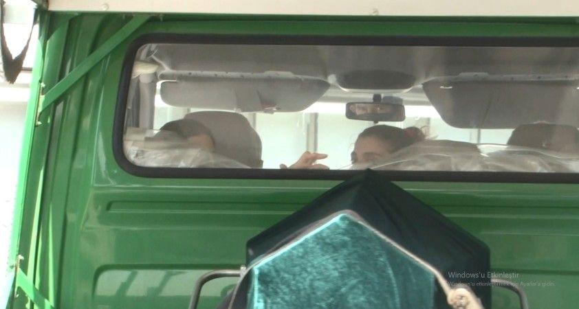 Vali Coş'un cenazesi hastane morgundan alındı