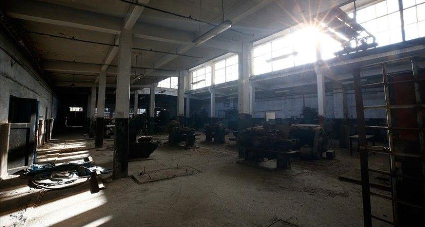 Eğitim yuvasına dönüştürülen Sümerbank Bez Fabrikası tarihin izlerini taşıyor