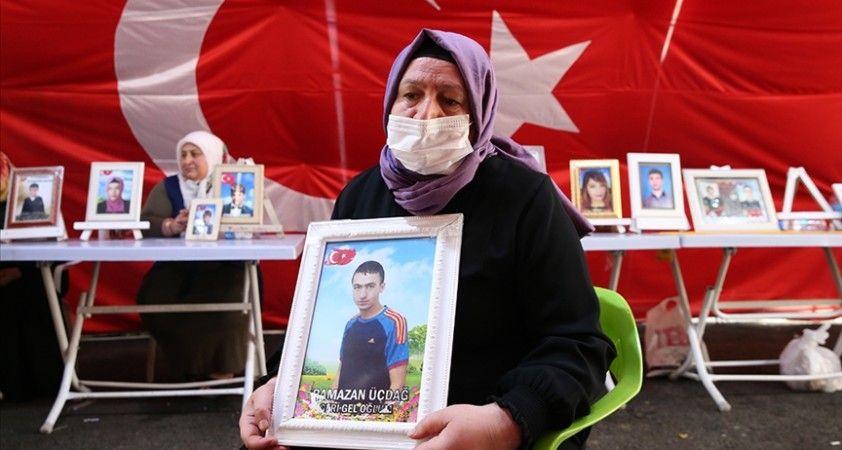 Diyarbakır annelerinden Üçdağ: Seni almadan gitmeyeceğim