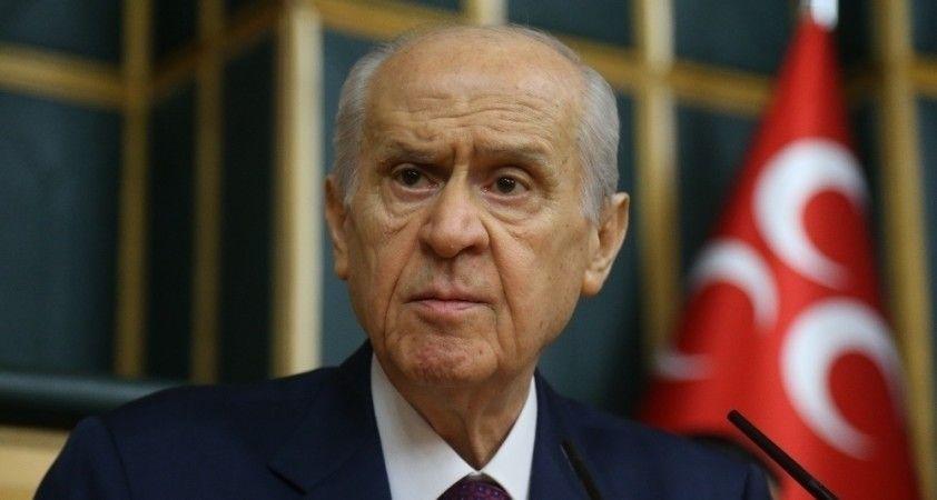 """MHP Genel Başkanı Bahçeli: """"Hüküm milletindir, hükumet millettir"""""""