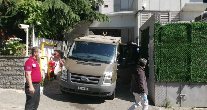 Karadayı'nın cenazesi Sultan Abdülhamid Han Eğitim ve Araştırma Hastanesi'ne sevk edildi