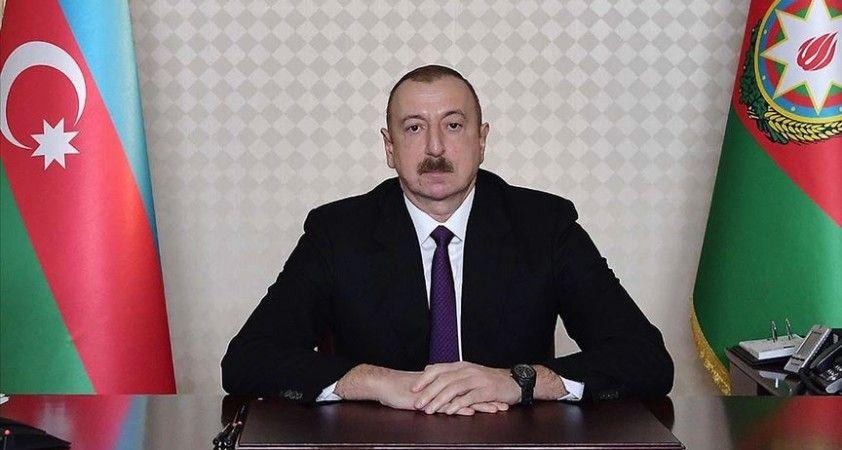 Azerbaycan Cumhurbaşkanı Aliyev: Ermenistan'ın tüm çabaları iflas etti