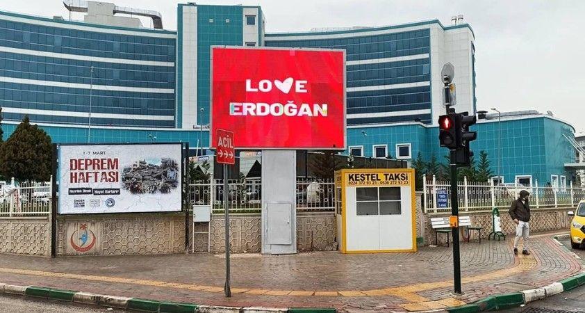 'Stop Erdoğan' skandalına Kestel Belediyesi'nden yanıt