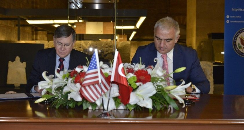 Türkiye ve ABD arasında arkeolojik eserlerin korunmasına dair mutabakat imzalandı