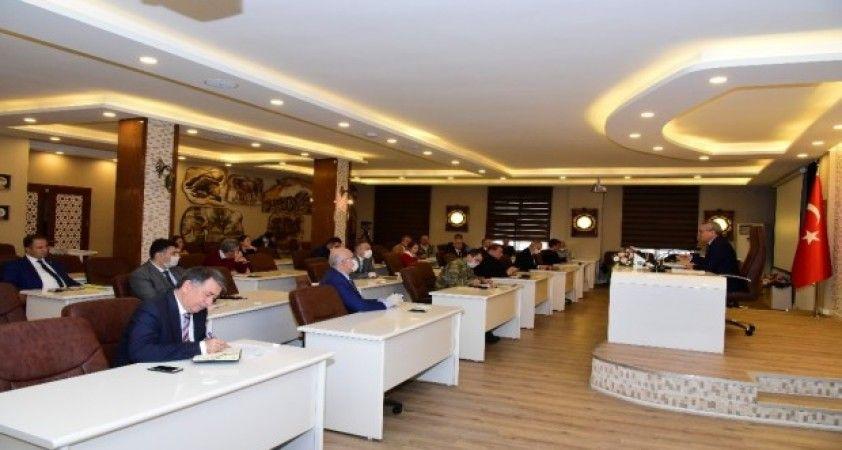 Pandemi Kurulu Toplantısı, Vali Deniz başkanlığında gerçekleştirildi