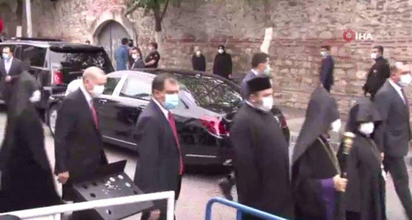 Cumhurbaşkanı Erdoğan da törende: AK Parti İstanbul Milletvekili Markar Esayan'a veda