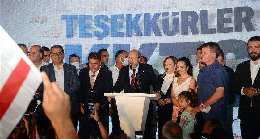 KKTC Cumhurbaşkanı seçilen Ersin Tatar'a bakanlardan ve siyasilerden kutlama mesajları