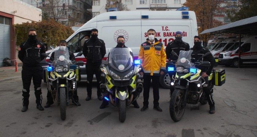 Sağlık Bakanlığı'nın iki tekerli ambulansları: Motosiklet Ambulanslar