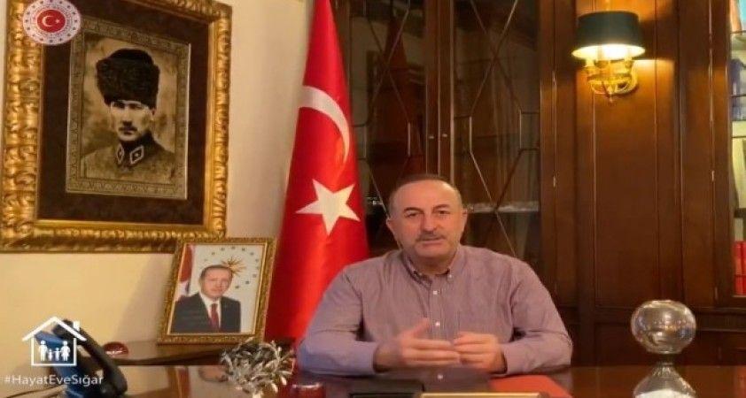 Bakan Çavuşoğlu'ndan yurt dışındaki Türklere videolu