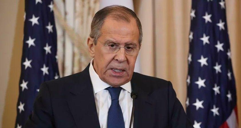Lavrov: Rusya ile ABD arasındaki diplomatik temsilcilikler sorunu ancak senkronize adımlarla çözülebilir