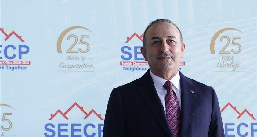 Dışişleri Bakanı Çavuşoğlu: Bugün artık sorunlara diyalog yoluyla çözüm arayan bir Güneydoğu Avrupa var