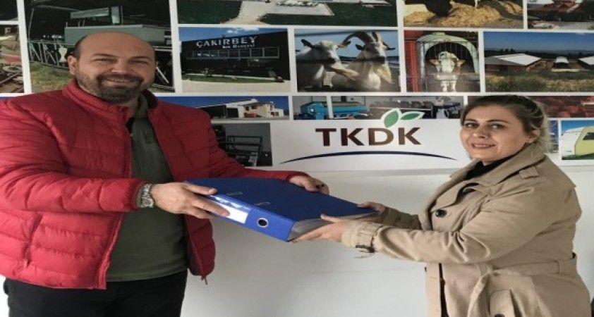 Burhaniye'de kadın fabrikatöre TKDK desteği