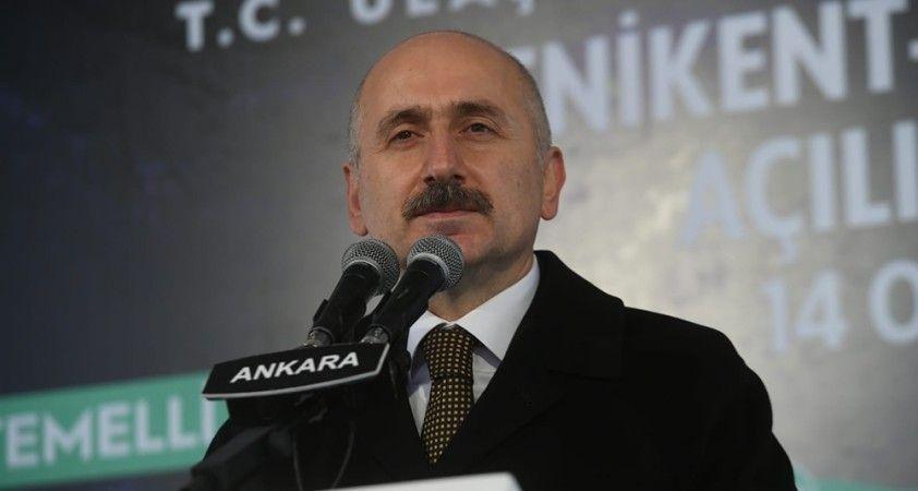 Yenikent-Temelli yolu yılda 183,7 milyon liralık tasarruf sağlayacak
