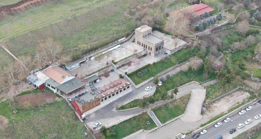 Diyarbakır'ın 'UNESCO yüzü' havadan görüntülendi