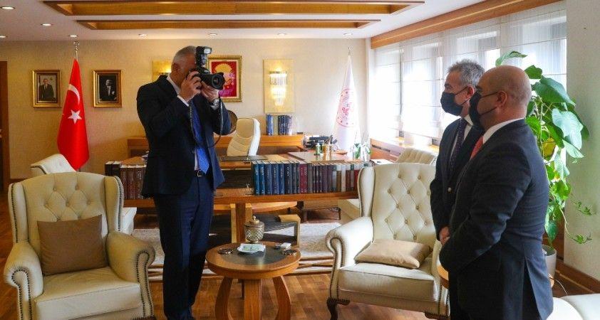 """Bakan Ersoy: """"Galata Kulesi yeni hali ile ziyaretçi arttırdı"""""""