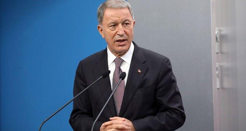 Milli Savunma Bakanı Akar: Ukrayna'nın toprak bütünlüğünü sonuna kadar destekleyeceğiz