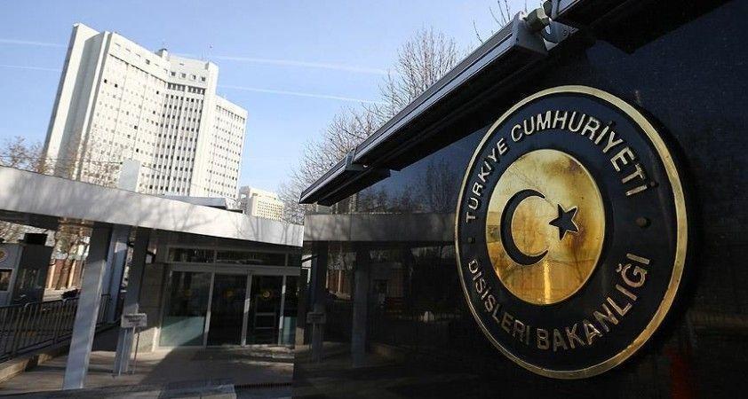 Dışişleri Bakanlığı: Tunus'ta Meclis'in faaliyetlerinin askıya alınmasından derin endişe duyuyoruz