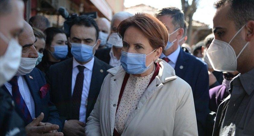 İYİ Parti Genel Başkanı Akşener: Siz Meral Akşener'den PKK'ya yandaş beklerseniz zaten ben bu işi bırakıp gideyim