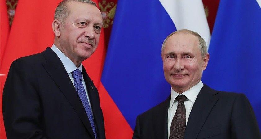 Cumhurbaşkanı Erdoğan ve Rusya Devlet Başkanı Putin telefon görüşmesi gerçekleştirdi