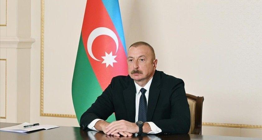 Azerbaycan Cumhurbaşkanı Aliyev'den Erdoğan'a, Türkiye'deki orman yangınlarında ölenler için taziye mesajı