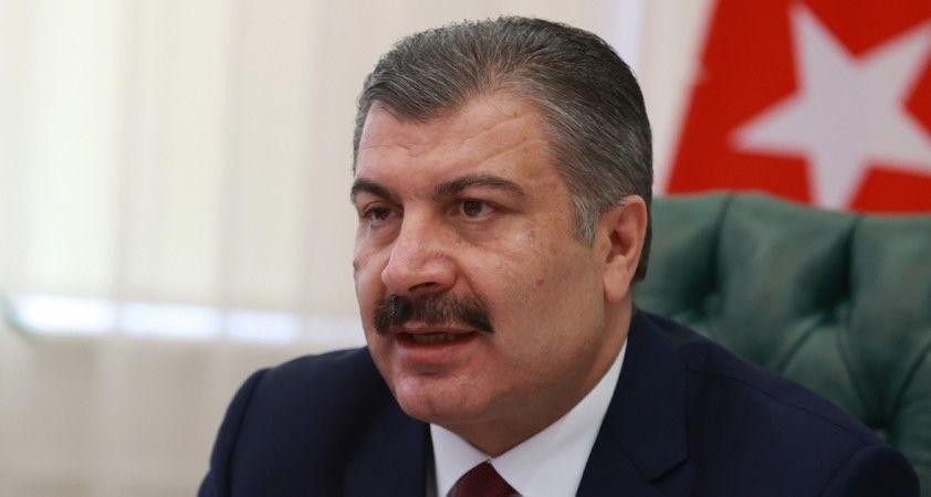 Sağlık Bakanı Koca'dan sosyal mesafe uyarısı
