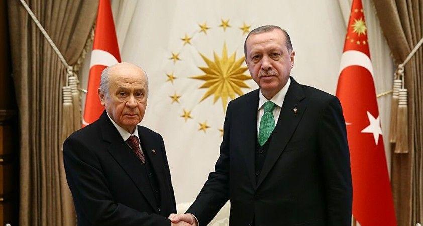 Cumhurbaşkanı Erdoğan MHP Genel Başkanı Bahçeli'yi ziyaret edecek