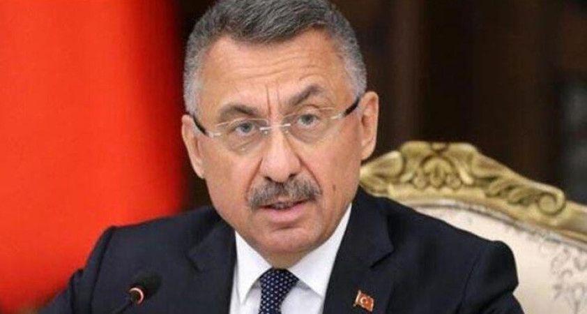 Cumhurbaşkanı Yardımcısı Oktay şehitler için başsağlığı mesajı yayımladı