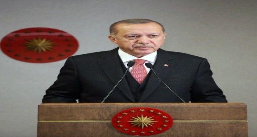 """Cumhurbaşkanı Erdoğan: """"İnsanlık nasıl Covid-19'u eninde sonunda yenecekse inşallah Türkiye bu bağnaz zihniyeti bir daha geri dönmemek üzere tarihe gömecektir"""""""