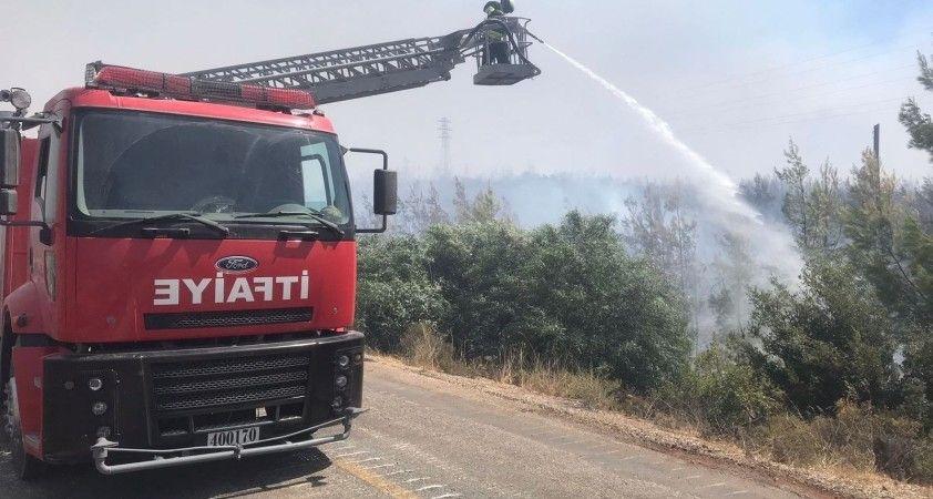 """MSB:"""" Türk Silahlı Kuvvetleri'nin, yangın söndürme ve tahliye çalışmalarına desteği sürdürüyor"""""""