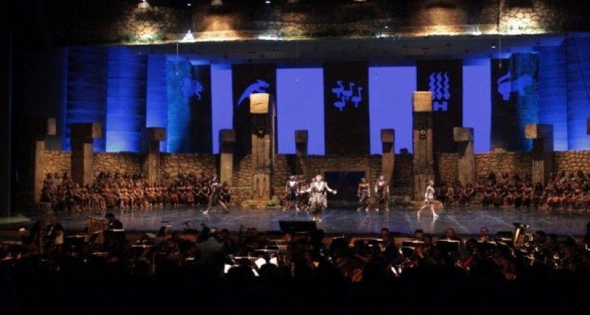 Göbeklitepe Operası'nın dünya prömiyeri ATO Congresium'da gerçekleşti