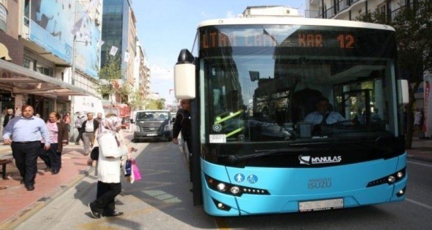 Manisa'da toplu ulaşıma kısıtlama