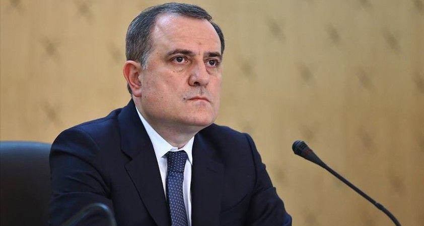 Azerbaycan Dışişleri Bakanı Bayramov, AGİT Minsk Grubu eş başkanlarıyla Cenevre'de bir araya geldi