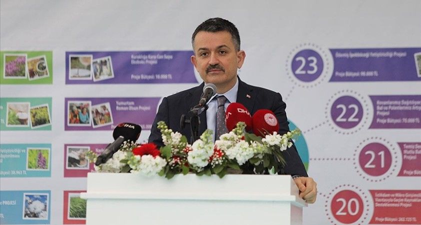 Tarım ve Orman Bakanı Pakdemirli, İzmir'de hayata geçirecekleri 35 projeyi açıkladı
