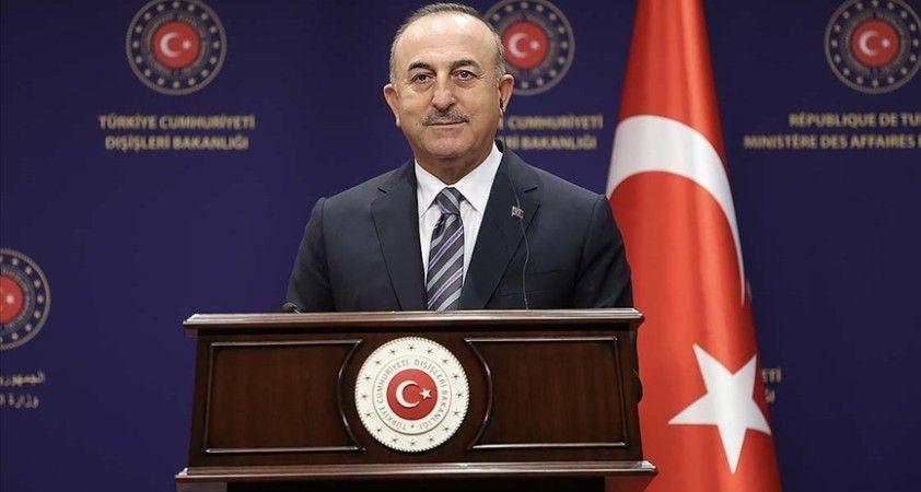 Çavuşoğlu: Suriye ve Libya'daki varlığımız düzensiz göçü ve terörü önlemiş ve diplomasinin önünü açmıştır