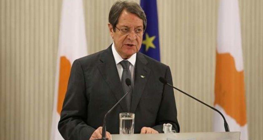 Anastasiadis: Kıbrıs barış görüşmelerine, iyi niyetli ve yapıcı müzakere ortamı sağlanırsa açığız