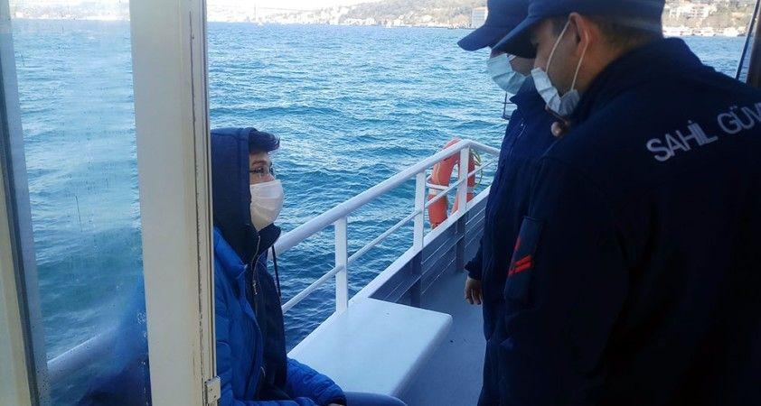 İstanbul Boğazı'nda hizmet veren vapurlarda denetim