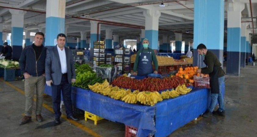 Millet Çarşısı pazar yeri dualarla açıldı