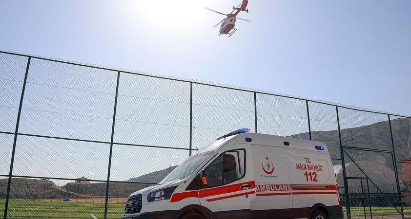 Salgın sürecinde acil sağlık hizmetleri kapsamında taşınan hasta sayısı arttı