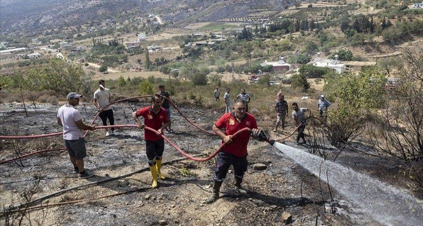 Silifke'deki orman yangınını kontrol altına alma çalışmaları sürüyor