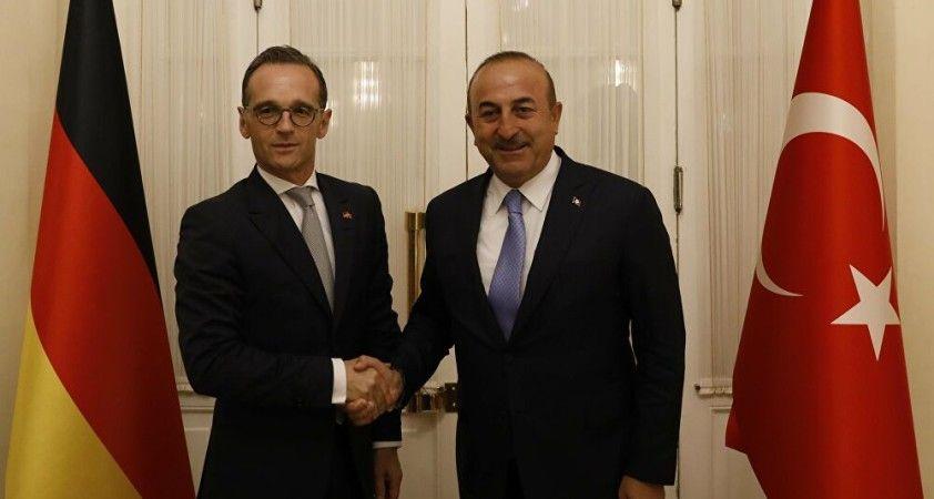 Dışişleri Bakanı Çavuşoğlu, Almanya Dışişleri Bakanı Heiko Maas ile görüştü