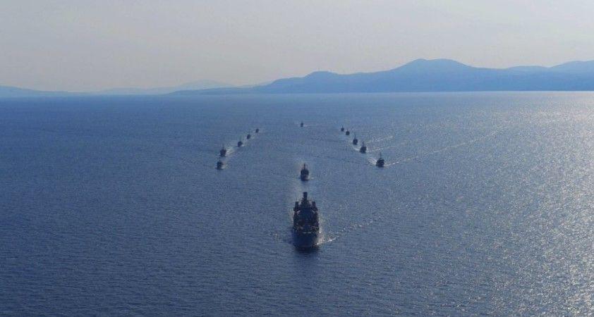 MSB: 'Nusret 2020 Mayın Davet Tatbikatı'nın deniz safhası tamamlandı'