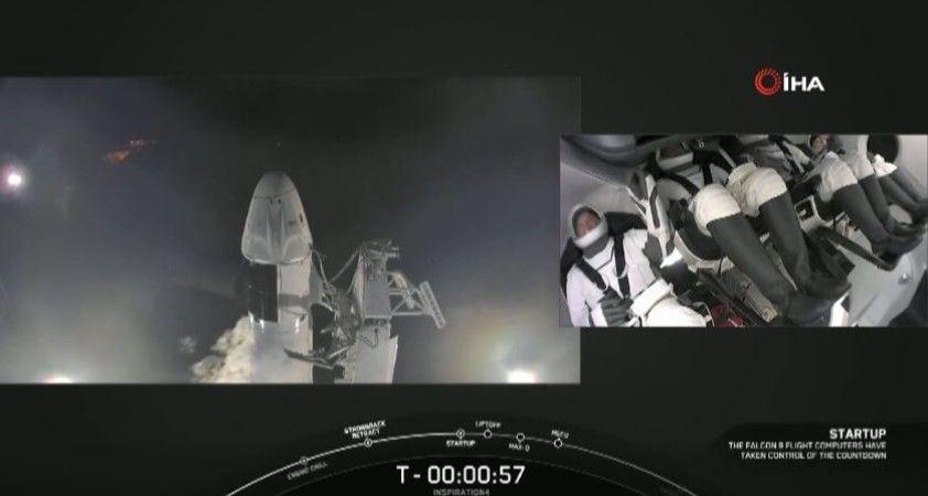 Uzay turizmi için başarılı adım