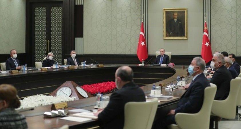 'Normalleşme'nin görüşüleceği Kabine toplantısı başladı