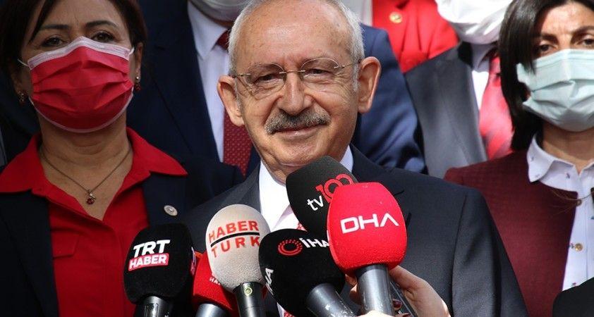 """CHP Genel Başkanı Kılıçdaroğlu: """"Cumhuriyetin ilanı bizim en büyük devrimimizdir"""