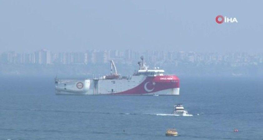Akdeniz'de 18 Ekim'e kadar Navtex ilan edildi