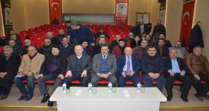 Milletvekili Tüfenkci, emlakçılar ile bir araya geldi